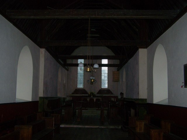 Inside St Mary's Church, Luddenham