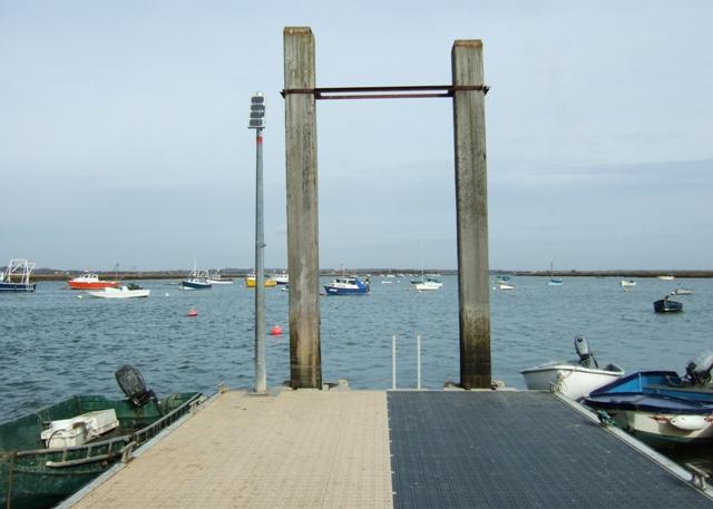 West Mersea pontoon