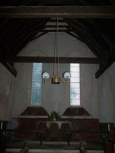 Close-up of Altar, St Mary's Church, Luddenham