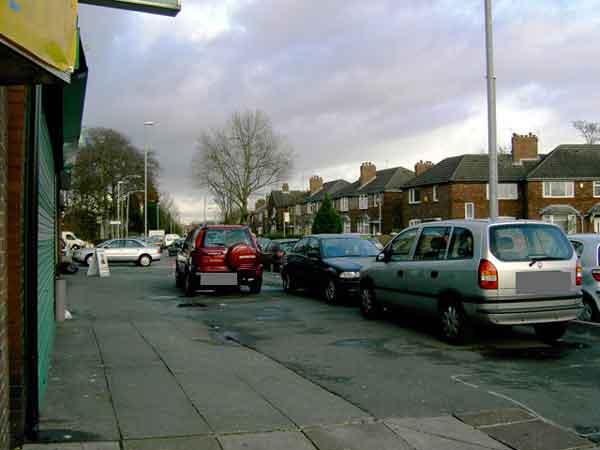 Burnage Lane / Lane End junction