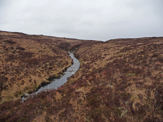 Moorland east of the A851