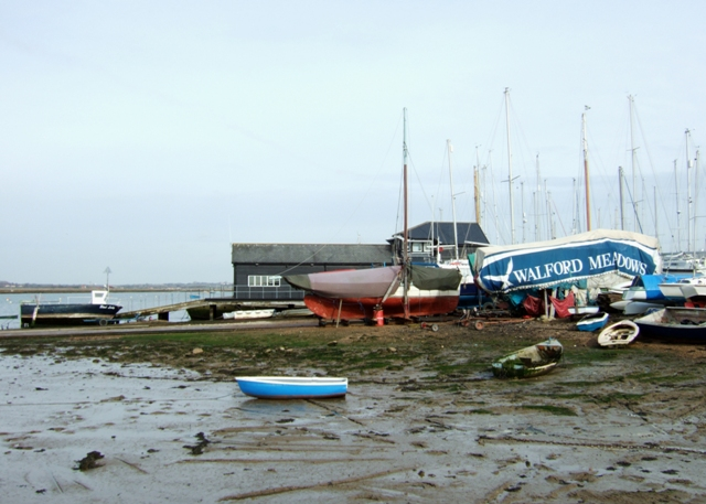 West Mersea harbour