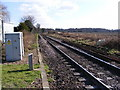 TM2141 : Along the tracks looking towards Nacton by Adrian Cable