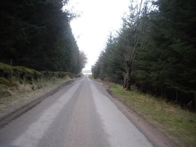 Road from Craiglash to Gateside