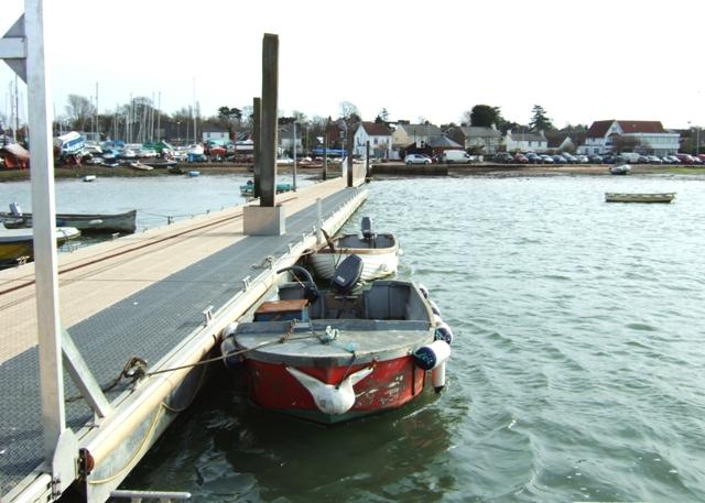 Harbour pontoon, West Mersea