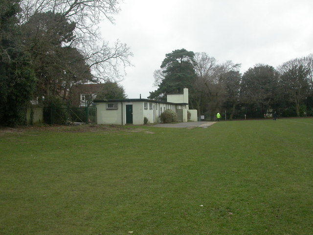 Strouden Park, changing rooms