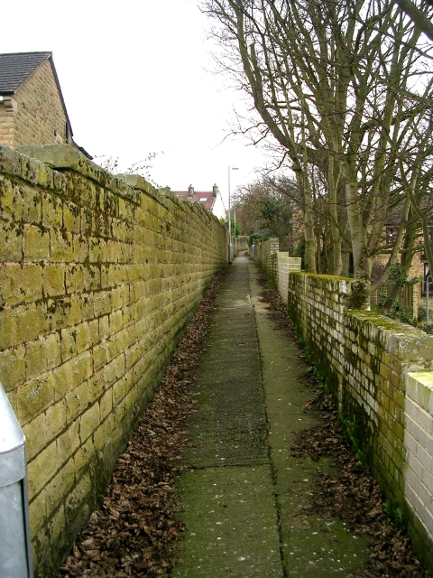 Footpath - Old Station Way