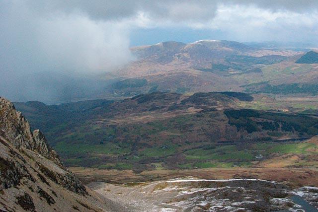 North from Cadair Idris.