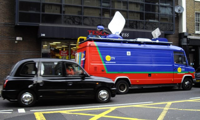 GMTV Outside Broadcast Van