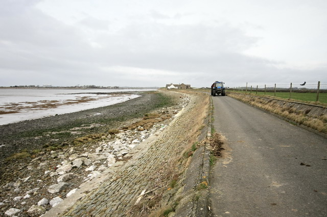 Sea Defence Near Crook Farm