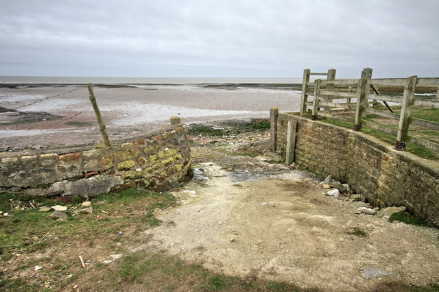 Old Slipway Near Cockersand Abbey