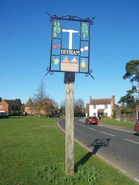 Offham Village Sign