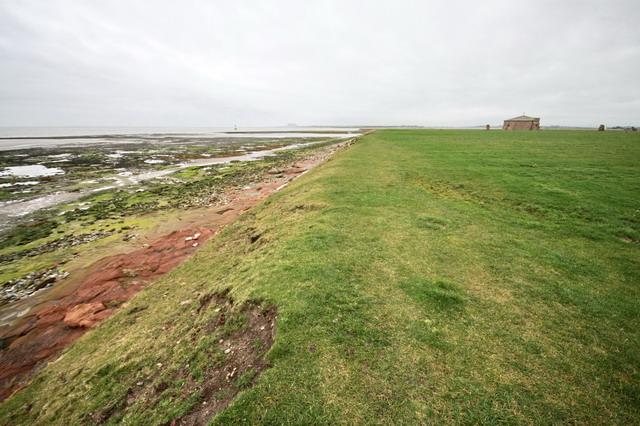 Coastal Path at Cockersand Abbey