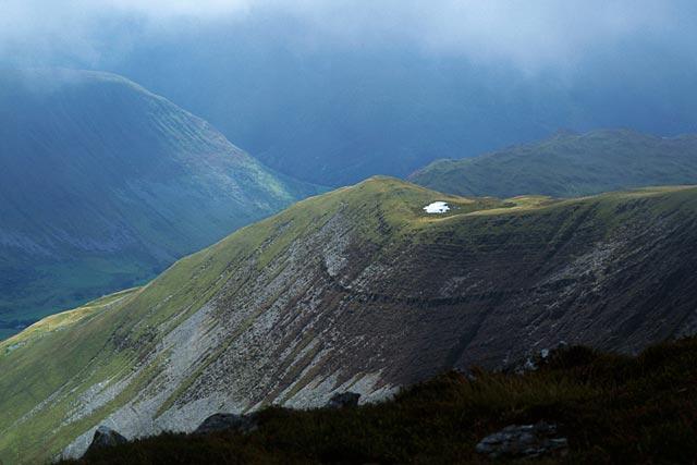 Across Cwm Amarch