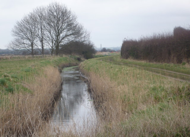 Stream at  West Stourmouth