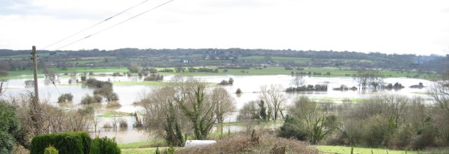 Stour Flooding of Eye Mead