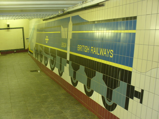 Woking Railway Station Underpass