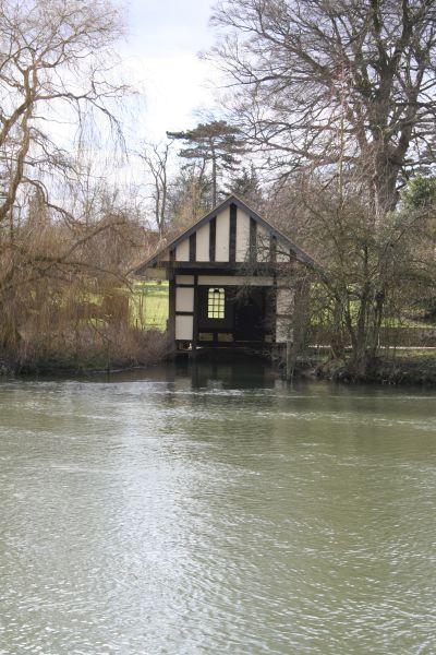 Empty boathouse