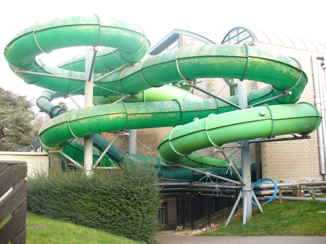 Flumes in Woking Park