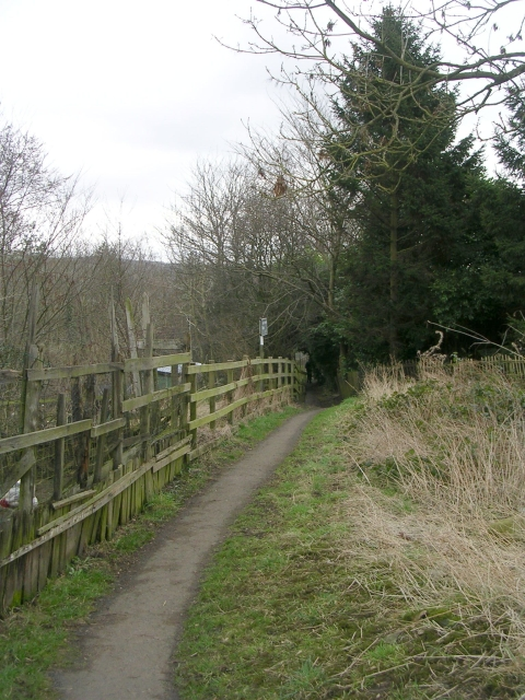 Footpath - School Lane