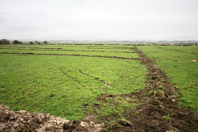New Field Drains at Kendal Farm