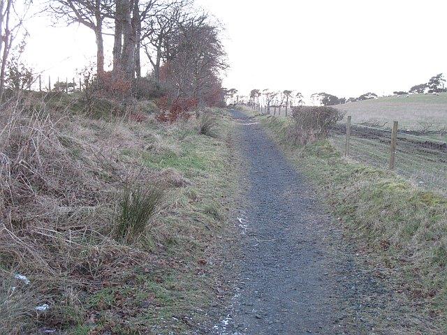 Path, near Maddiston