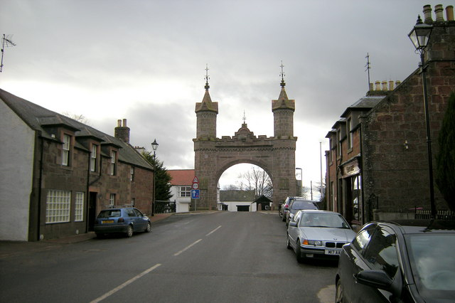 The Arch in Fettercairn