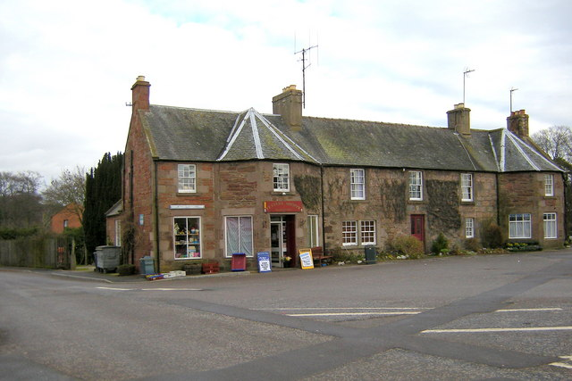View of Fettery Shoppe in The Square, Fettercairn