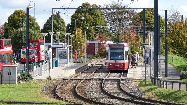 Addington Village Tram Stop