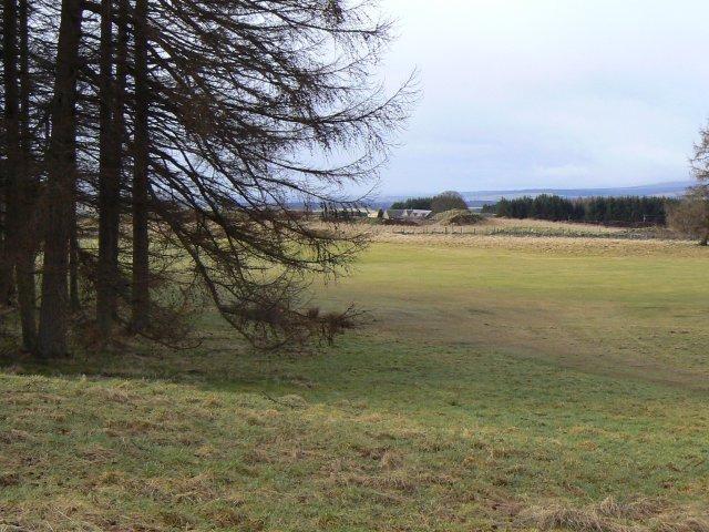 Kirkton in the distance