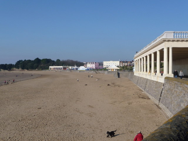 Barry Island: view across Whitmore Bay