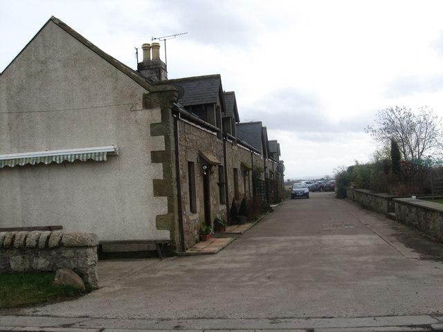 Cottages near Kimmerghame Mains