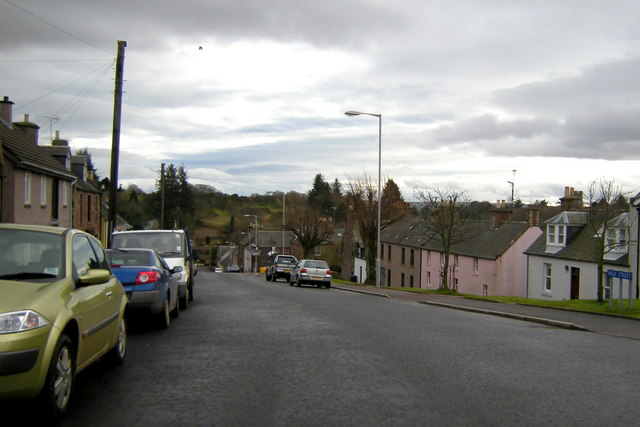 View of High Street, Auchenblae