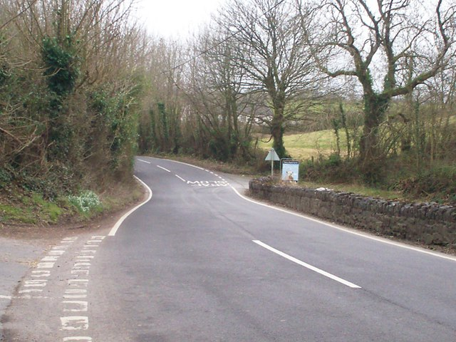 Road Junction to Ciffig