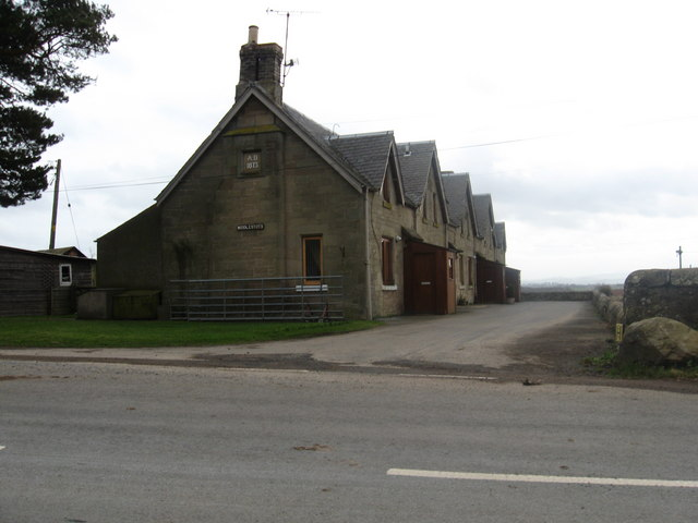 Farm cottages at Middlestots