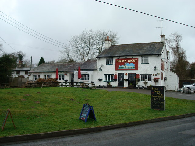 Brown Trout Public House, Lamberhurst, Kent