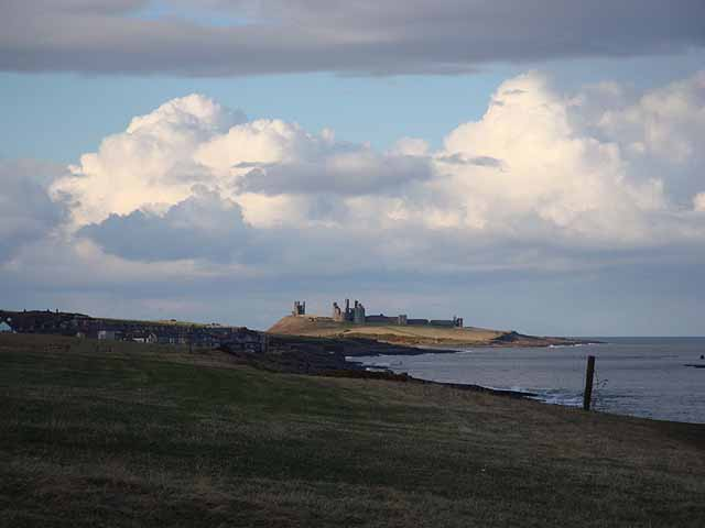 Dunstanburgh Castle from Cullernose Point