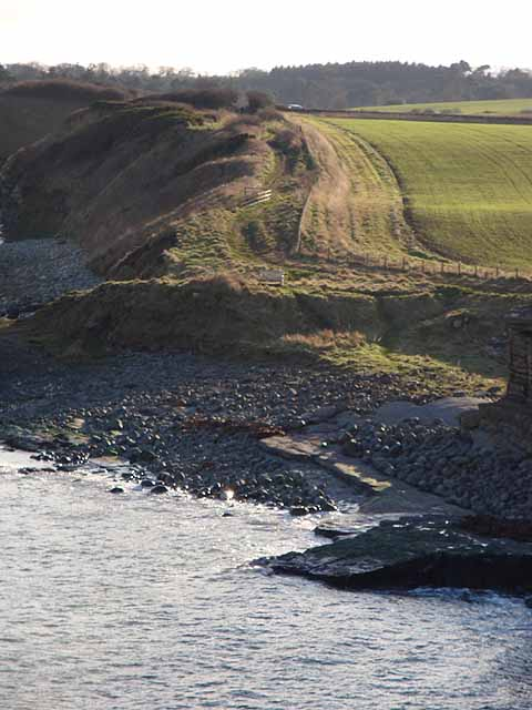 Coast south of Cullernose