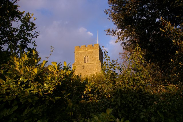 The church tower, East Mersea