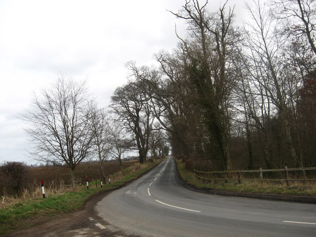 Country road near Middlestots
