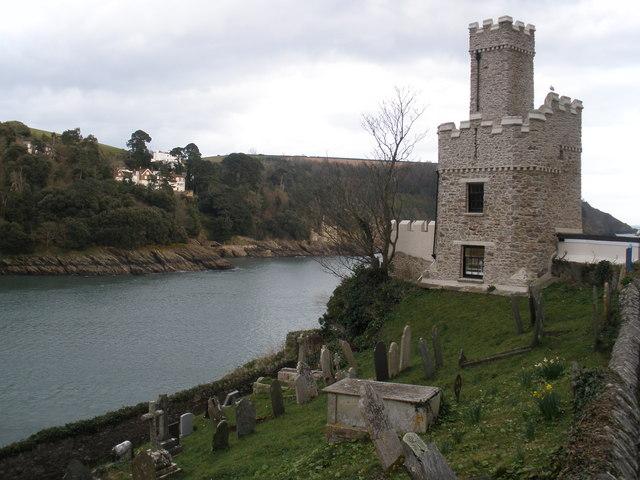 The castle, Dartmouth