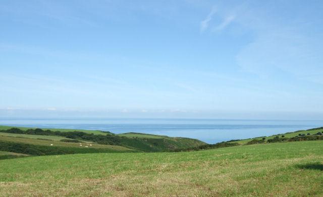 Cliff top fields