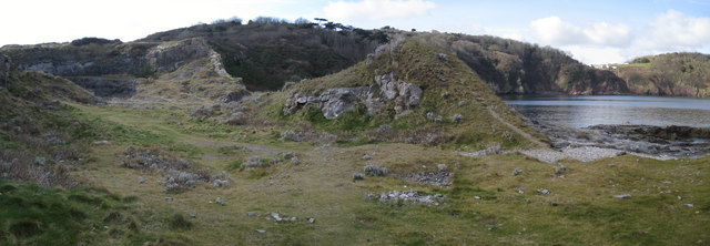 Disused Limestone Quarry - Hope's Nose