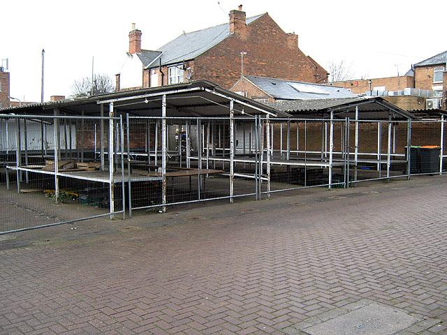 Unused Market Stalls