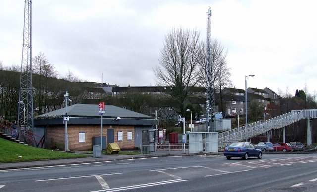 Branchton railway station