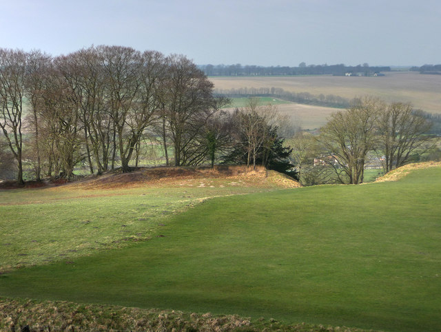 Old Sarum looking west