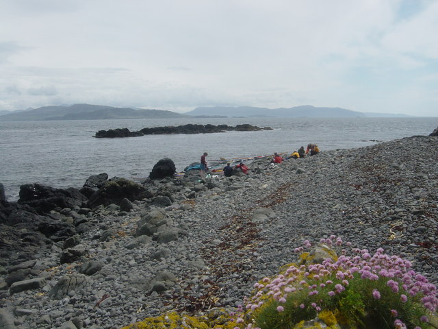 Beach on the east side of Cairn na Burgh More