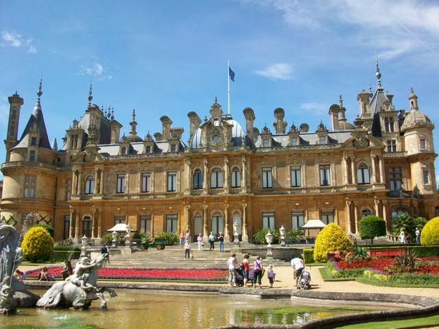 Waddesdon Manor front face