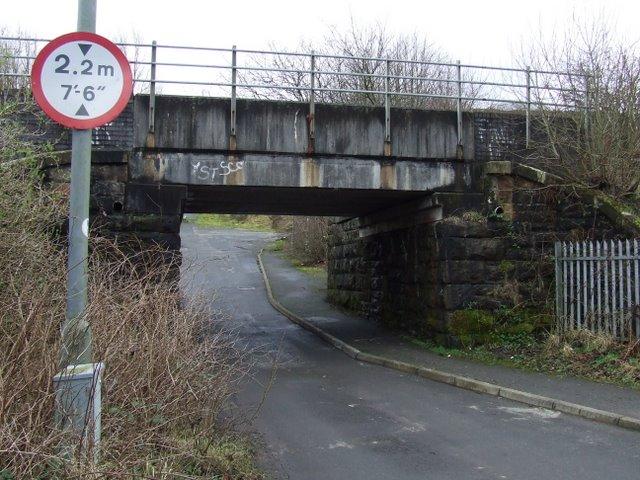 Railway bridge near Whinhill station