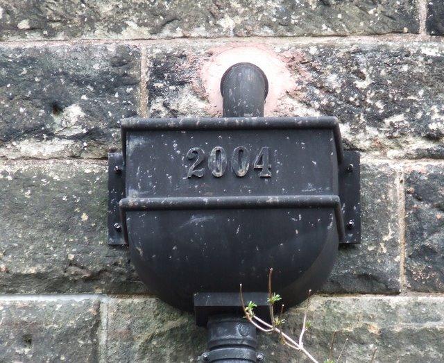 Drainpipe detail